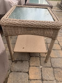 Patio square table