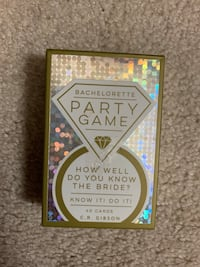 Bachlorette party card game