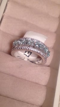 9.25 Silver Ring Size 7