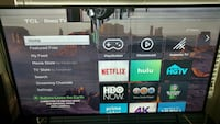 """Screen cracked- Tcl 65"""" s405 LCD ROKU HDTV  San Diego, 92124"""