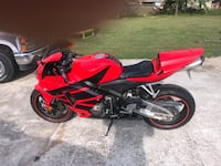 Red and black sports bike Hull, 30646