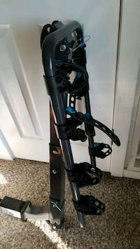Hitch bike carrier with 1.25 adaptor