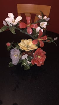Hand  made glass roses and tulips Trumbull, 06611