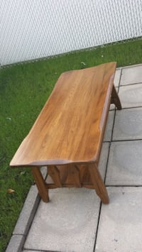 rectangular brown wooden folding table Laval, H7W 3C5