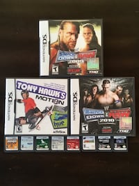 Assorted DS Games Calgary, T2R 1B4