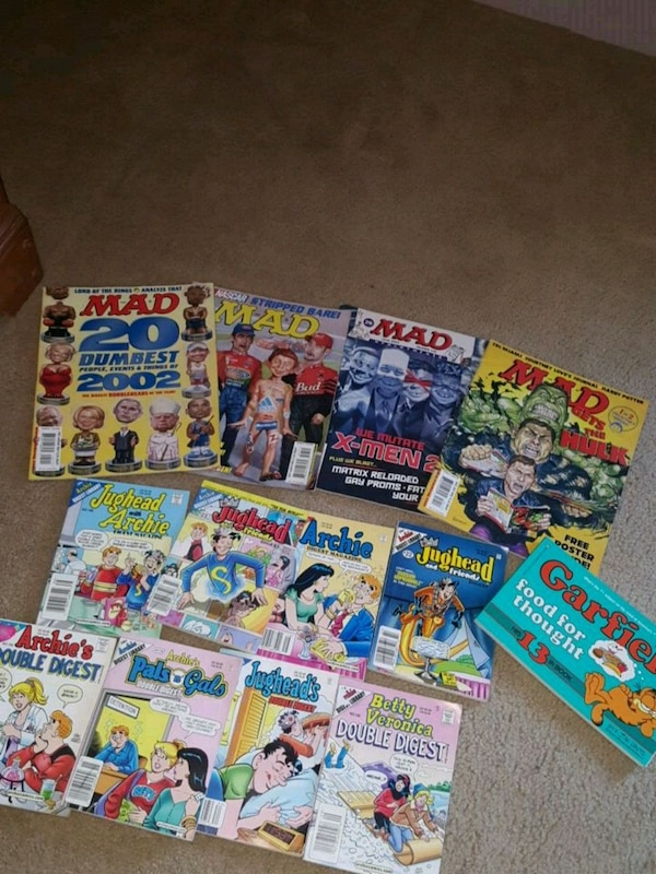 assorted comic books