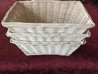 Set of 3 baskets  ! Woodbridge, 22193