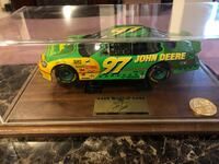 Mint in showcase. Signed Limited Edition 50th Anniversary NASCAR with COA. Calgary, T2A 7S7
