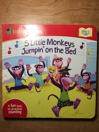 Baby Genius: 5 Little Monkeys Jumpin' on the Bed: A Sing 'N Count Book