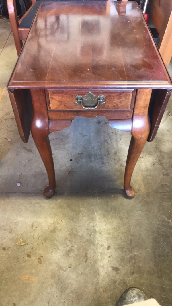 Coffee Table Or Occasional With Fold Down Sides