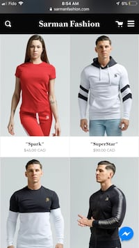 Sarman Men's clothes for sale, Hoodies, T-shirts, pants for sale Calgary, T2P 1B8