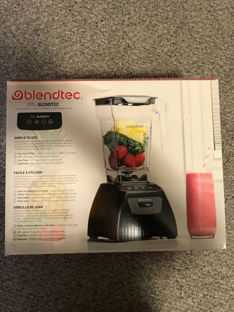 Used, black and gray Blendtec blender box for sale  Port Coquitlam