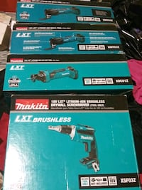 Makita multiple tools all 18v lxt brushless San Jose, 95123
