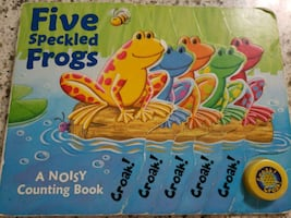 Frog sound book