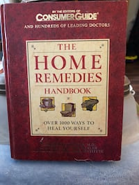 Home remedies book with secret compartment  Guelph, N1H 8L4