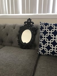 black wooden frame wall mirror Arlington, 22206
