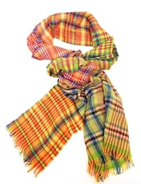 New matta 100% wool check scarf Athina, 116 35