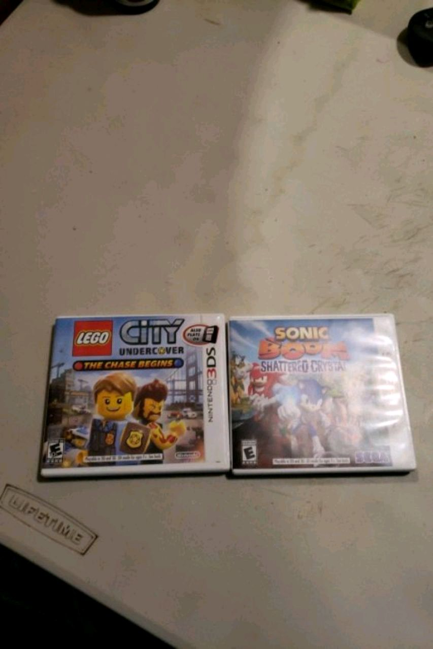 two Nintendo 3DS game cases for sale  Hialeah
