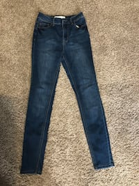 High rise size 5 RSQ jeans