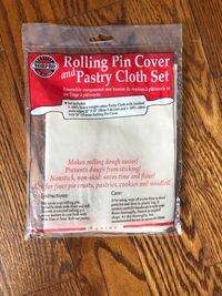 Norpro Rolling Pin Cover and Pastry Cloth Set Caledon, L7K 0C5