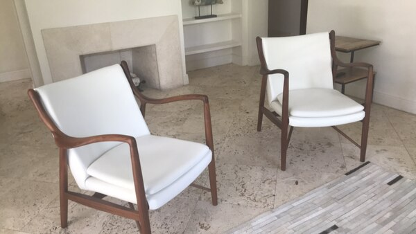 Fantastic Two Luxury Designer Chairs Kmp Bought 900 A Piece Download Free Architecture Designs Sospemadebymaigaardcom