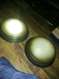 2 matching light fixtures 3 bulb frosted glass Colorado Springs, 80917