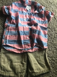 blue, brown, and white plaid shorts Gretna, 70056