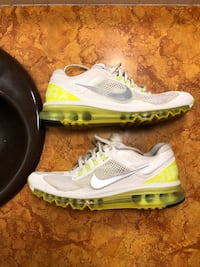 Nike Air Max 2013 Women Athletic Running Lemon Chiffons Shoes Size 8.5 Wichita, 67226