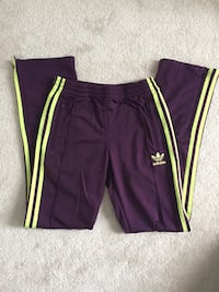 BNWOT authentic purple Adidas women ladies track pants - size XS Georgetown, L7G 5R6