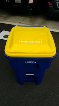 64 gallon recycle bin
