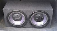 2 12 inch subs Riverside, 92503