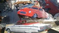 A BOX OF CAR PICTURE MAGNETS Fresno, 93703