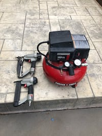 red and black air compressor Avon, 02322