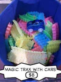 Magic trax with cars