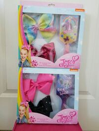 2 new JoJo Siwa girls hair clips and brush giftset Rockville