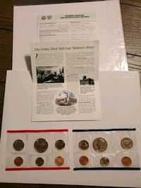 1989 Uncirculated Coin set  Selden, 11784