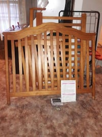 Used Infant Crib And Turns Into Day Bed For Sale In Grand