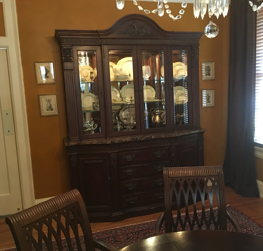 Bernhardt Embassy Row Collection China Cabinet in Anderson - letgo