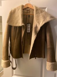 New Shearling jacket  Vaughan, L4J 8V4