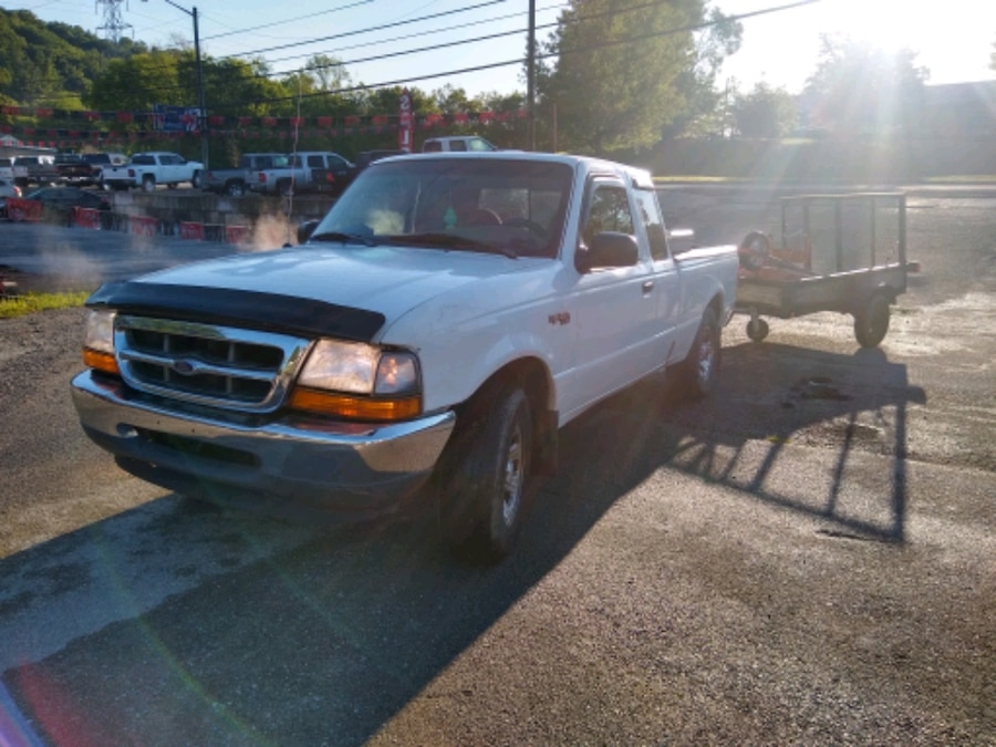 Photo Ford ranger with utility trailer