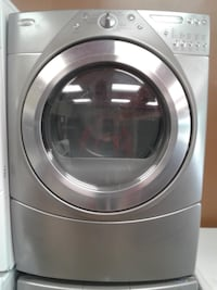"""27"""" WHIRLPOOL FRONT LOAD GREY STEAM DRYER تورونتو"""