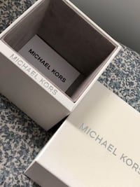 Michael Kors titanium stainless steel watch