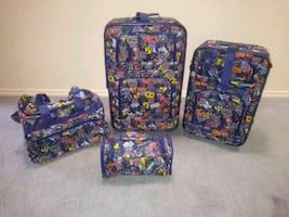 Route 66 Luggage NEW 4 piece luggage set