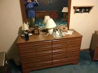 brown wooden dresser with mirror Grand Junction, 81506