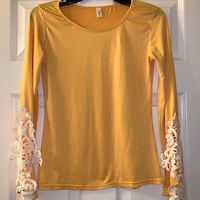 This Asian Yellow Blouse. Charlotte, 28217