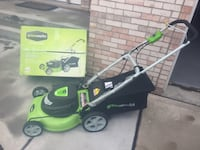 New corded electric lawn mower Downers Grove, 60516