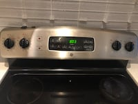 GE oven stainless steel