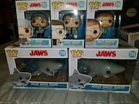 Jaws funko pop set (FIRM PRICE) Toronto, M1L 2T3