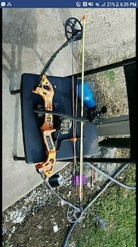 black and brown compound bow screenshot Marksville, 71351