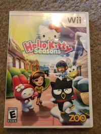 Wii Hello Kitty Seasons